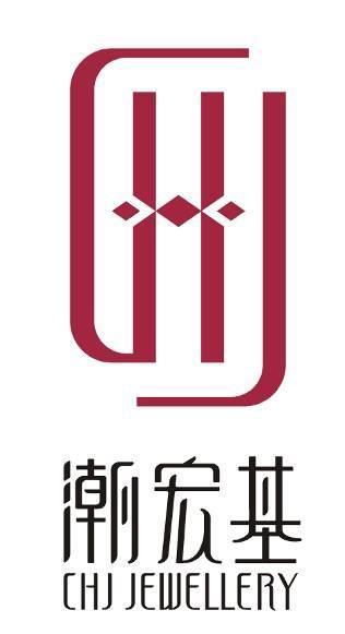 潮宏基logo